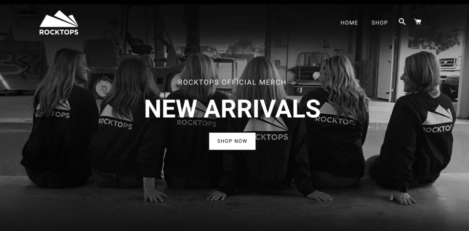 merchandise store image from website