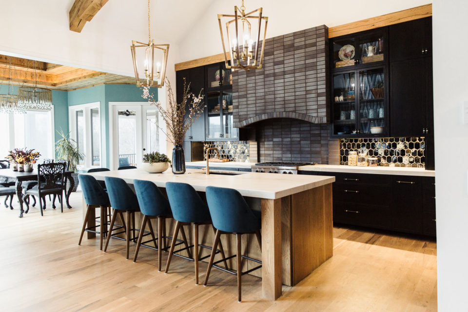 large stone kitchen island countertops