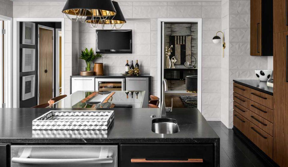 Nero Orion Granite kitchen