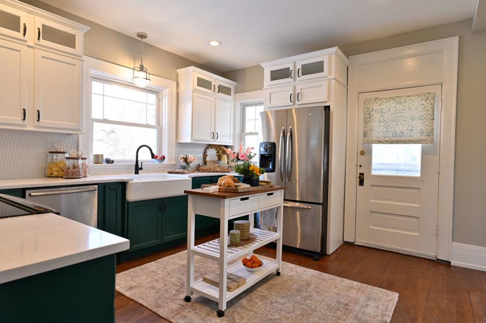 Bargain mansions kitchen