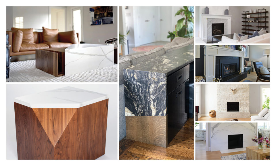 Custom Quartz furniture